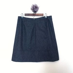 J. Crew Skirts - J.Crew wool grey skirt